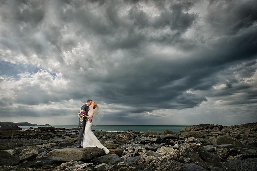 Atlantic Hotel Wedding in Cornwall
