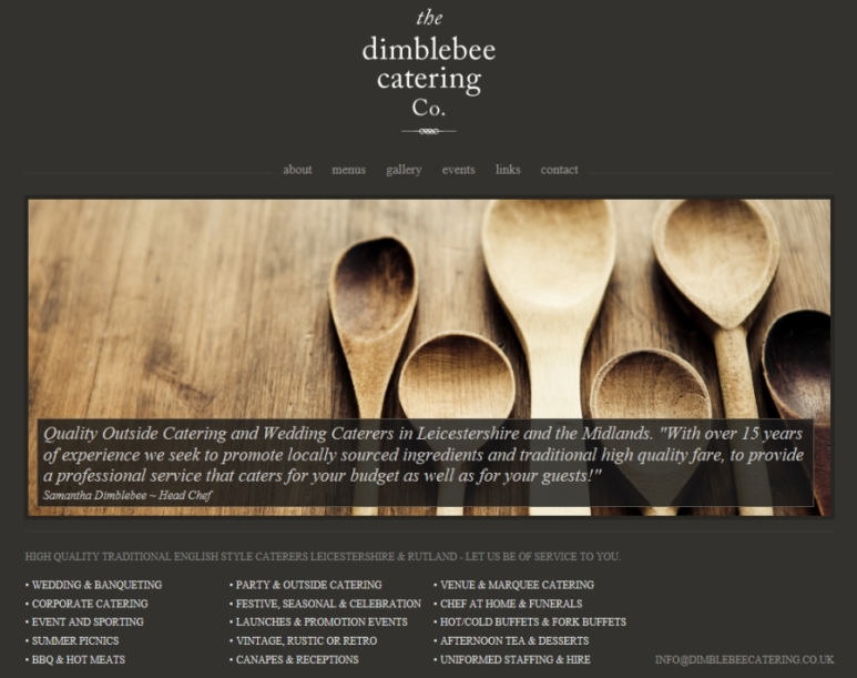 Dimblebee Catering Caterers in Loughborough Caterers in Leicestershire