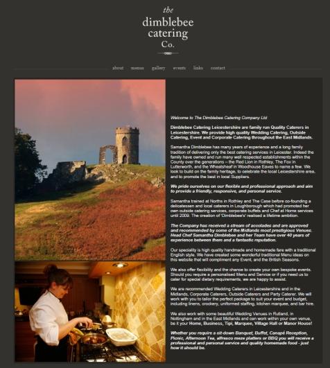 Dimblebee catering company loughborough wedding caterers in loughborough caterers
