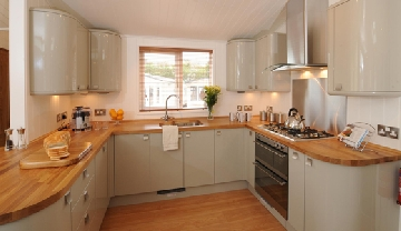 luxury caravans for self catering holidays on Devon