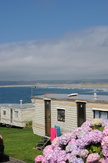 beach and family holiday parks in North Devon