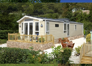 Dog friendly holiday lodges in Cornwall at River Valley Country park
