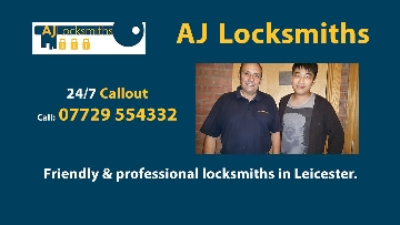 AJ Locksmiths with Customer