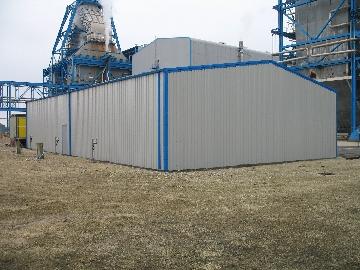 Steel Framed building in Yorkshire