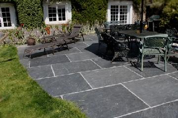 slate flagstones outdoors