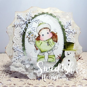 Tilda with Snowy