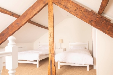 double bedroom at Redwood