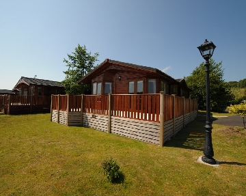 Luxury holiday lodges with private hot tubs