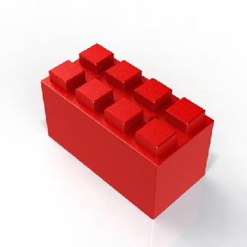 REd Full block