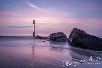 Fine Art landscape - Waxham Beach at Sunrise