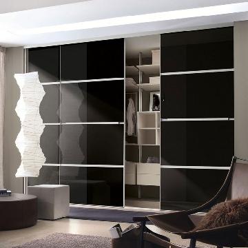 Sliding Wardrobe Doors in Black