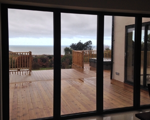 aluminium windows and bi fold doors