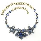 Oscar De La Renta Vintage Enamel Necklace