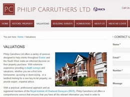 https://www.philipcarruthers.co.uk/ website