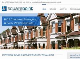 https://www.squarepointsurveyors.co.uk/ website