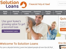 https://www.solution-loans.co.uk/ website