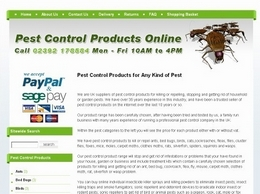 https://www.buypestcontrolproductsonline.co.uk/ website