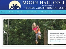 http://www.moonhallcollege.co.uk/ website