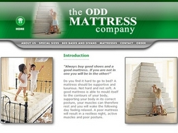 https://www.oddmattress.co.uk/ website