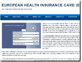 https://www.european-health-card.org.uk/ website