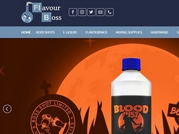 https://flavour-boss.co.uk/ website