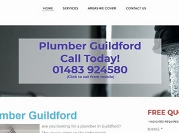 https://www.plumber-guildford.co.uk/ website