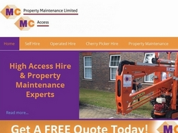 https://www.mcpropertymaintenance.co.uk/ website
