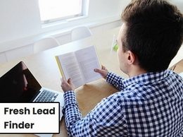 https://freshleadfinder.com/ website