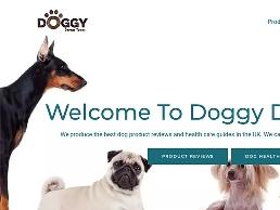 https://doggydreamteam.co.uk/ website