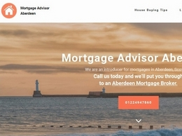 https://www.mortgagebrokeraberdeen.co.uk/ website