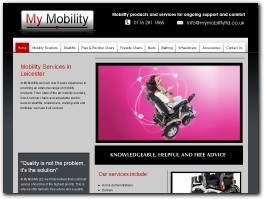 http://www.mymobilityltd.co.uk/ website