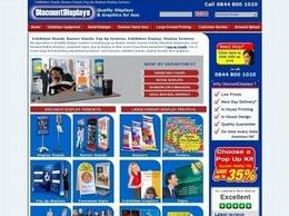https://www.discountdisplays.co.uk website