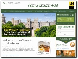 http://clarencehotelwindsor.co.uk/ website