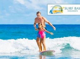 https://www.surfbayholidays.co.uk/ website
