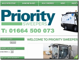http://www.prioritysweepers.com website