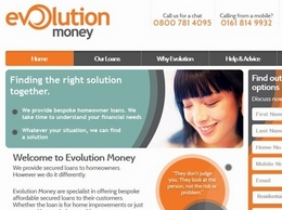 https://www.evolutionmoney.co.uk/ website