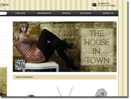 http://www.thehouseintown.co.uk website