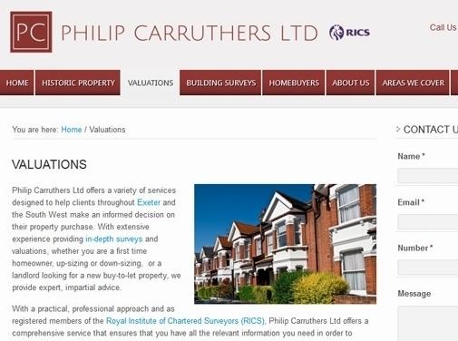 https://www.philipcarruthers.co.uk/ website