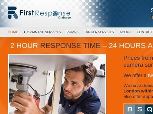 http://www.firstresponsedrainage.co.uk/ website