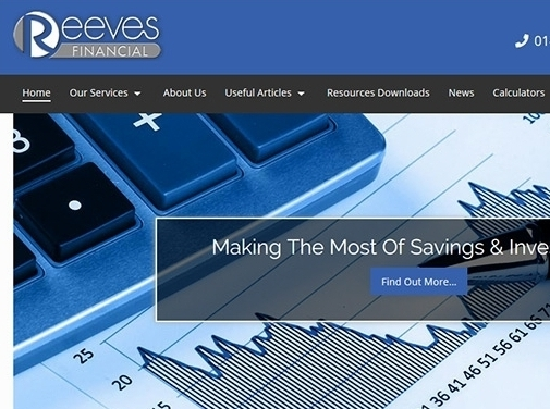 https://www.reevesfinancial.co.uk/ website