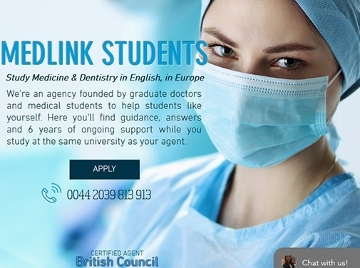 https://www.medlinkstudents.com/ website