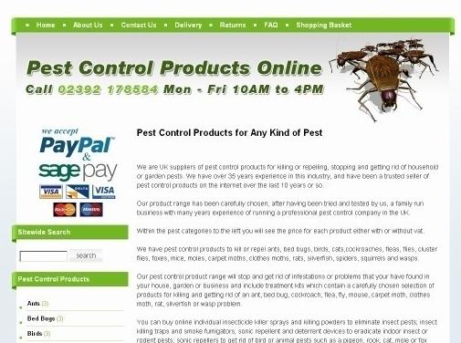 https://www.buypestcontrolproductsonline.co.uk/ website