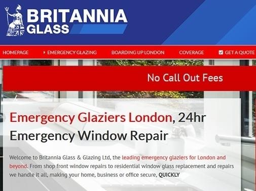 https://www.britanniaglass.co.uk/ website