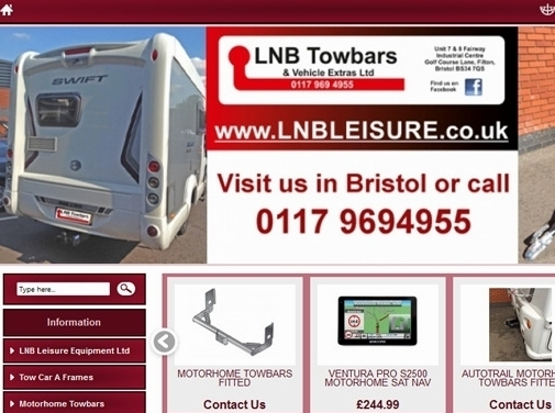 https://www.lnbleisure.co.uk/ website