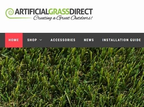 https://www.artificialgrassdirect.co.uk/ website