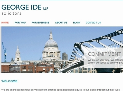 https://www.georgeide.co.uk/ website