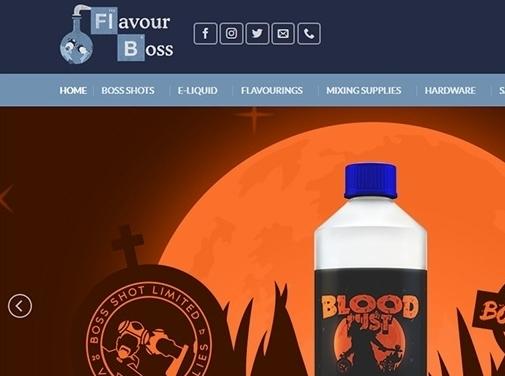 https://flavour-boss.co.uk/ website