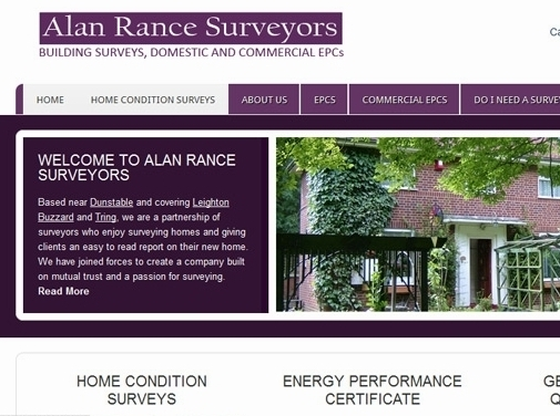 https://www.alanrancesurveyors.co.uk/ website
