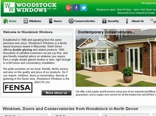 https://www.woodstockwindows.co.uk/ website