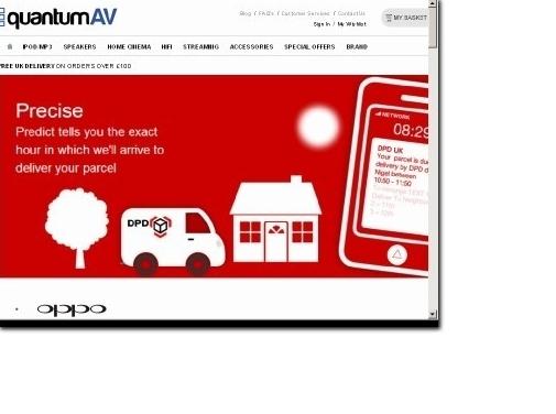 https://www.quantumav.co.uk website